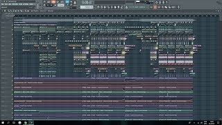 MitiS- Moments (ft. Adara) FULL Instrumental Remake in FL Studio 12 +FLP