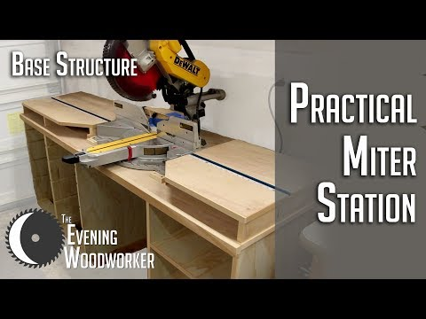 Practical Miter Station for a Small Shop- Part 1