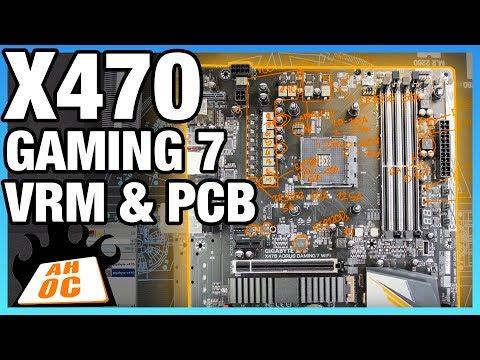 Gigabyte X470 Gaming 7 VRM Analysis   Buildzoid