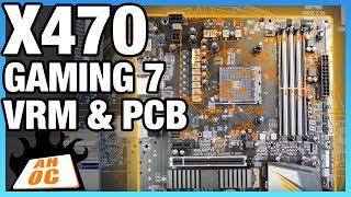 Gigabyte X470 Gaming 7 VRM Analysis | Buildzoid