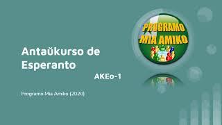 Antaŭkurso de Esperanto (AKEo-01) em Português