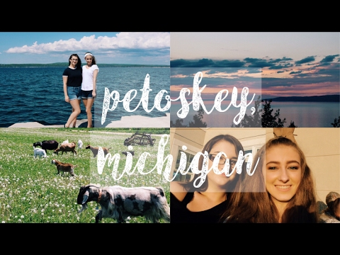 travel vlog//petoskey michigan (read description!)