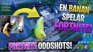 HE DRESSES UP TO THE SKINNET INGAME! * HAHA *-English Fortnite Oddshots #106