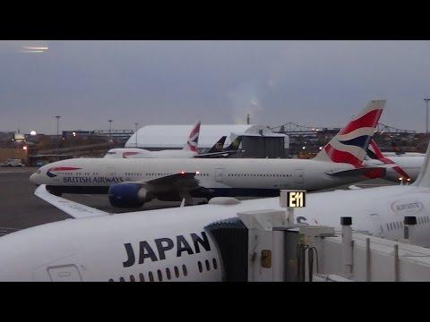 British Airways Boeing 777-200ER Flight BOS-LHR