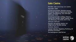 Bewertung des Casinos GalaCasino auf der Webseite OnlineCasinoBOX.de