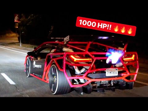 ALEX CHOI'S 1000HP FLAME THROWING TWIN TURBO LAMBORGHINI *PASSENGER REACTIONS*