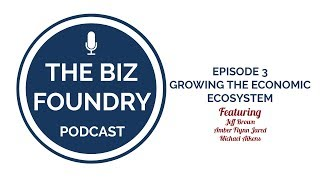 The Biz Foundry Podcast, Episode #3: Growing The Entrepreneurial Ecosystem