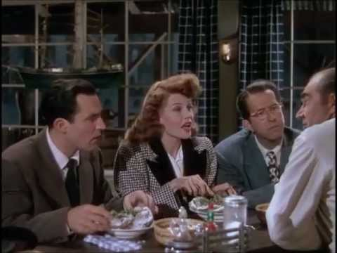 gene kelly, rita hayworth & phil silvers - make way for tomorrow