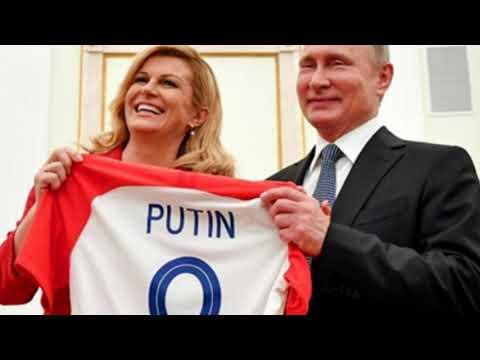 Nữ tổng thống Croatia 'đốn tim' người hâm mộ ở World Cup