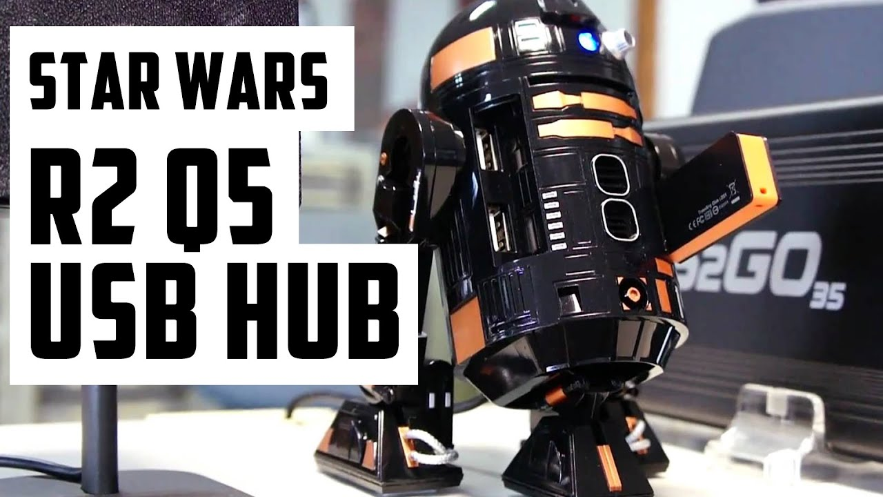 star wars r2 q5 usb hub youtube. Black Bedroom Furniture Sets. Home Design Ideas
