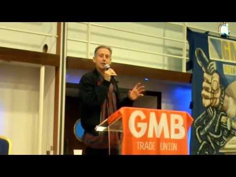 Peter Tatchell talks about Alternative Economics at the 2016 GMB Campaigns for Justice Conference