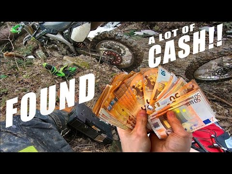 STOLEN MONEY FOUND IN HIDDEN BAG - Lucky Bikers