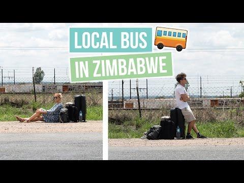 $18 Public Bus to Victoria Falls | MOST DANGEROUS BUS RIDE?