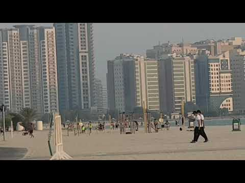 Open Beach Dubai views