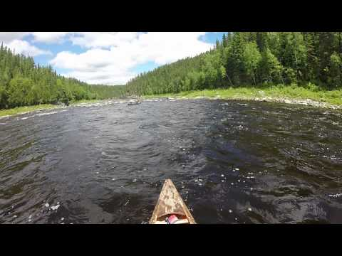 Missinaibi River -- Third Rapids