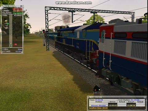 Indian MSTS; Freight Trailer; Rescue Mission; WDM2