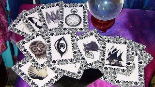 Handmade Gothic Victorian Oracle Card Deck for Divination (ASMR)
