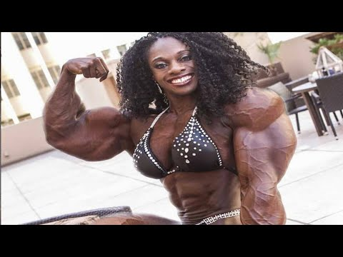 FEMALES BODYBUILDING, MONIQUE JONES'S, IFBB MUSCLE, WORKOUT,