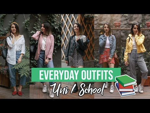 OOTW: Everyday uni/school outfits