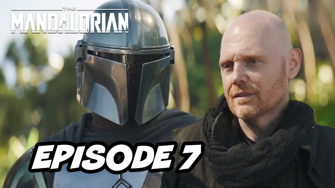 Star Wars The Mandalorian Season 2 Episode 7 Top 10 Wtf And Movies Easter Eggs Youtube