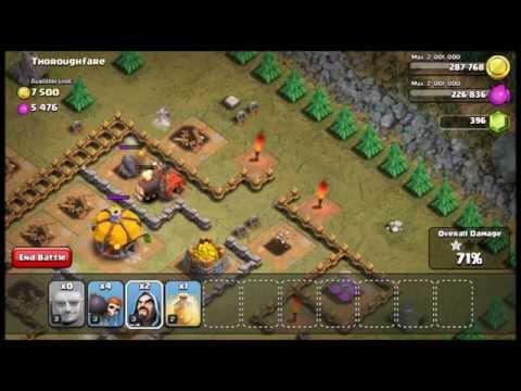 Defeat Fool's Gold & ThoroughFare In Clash Of Clan