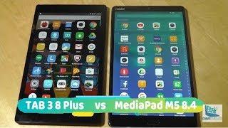 Comparison: Huawei MediaPad M5 vs. Lenovo Tab 3 8 Plus