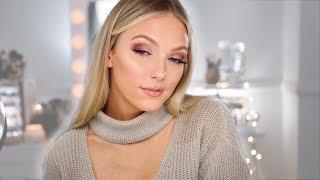 Soft Holiday Makeup | Cranberry Tones