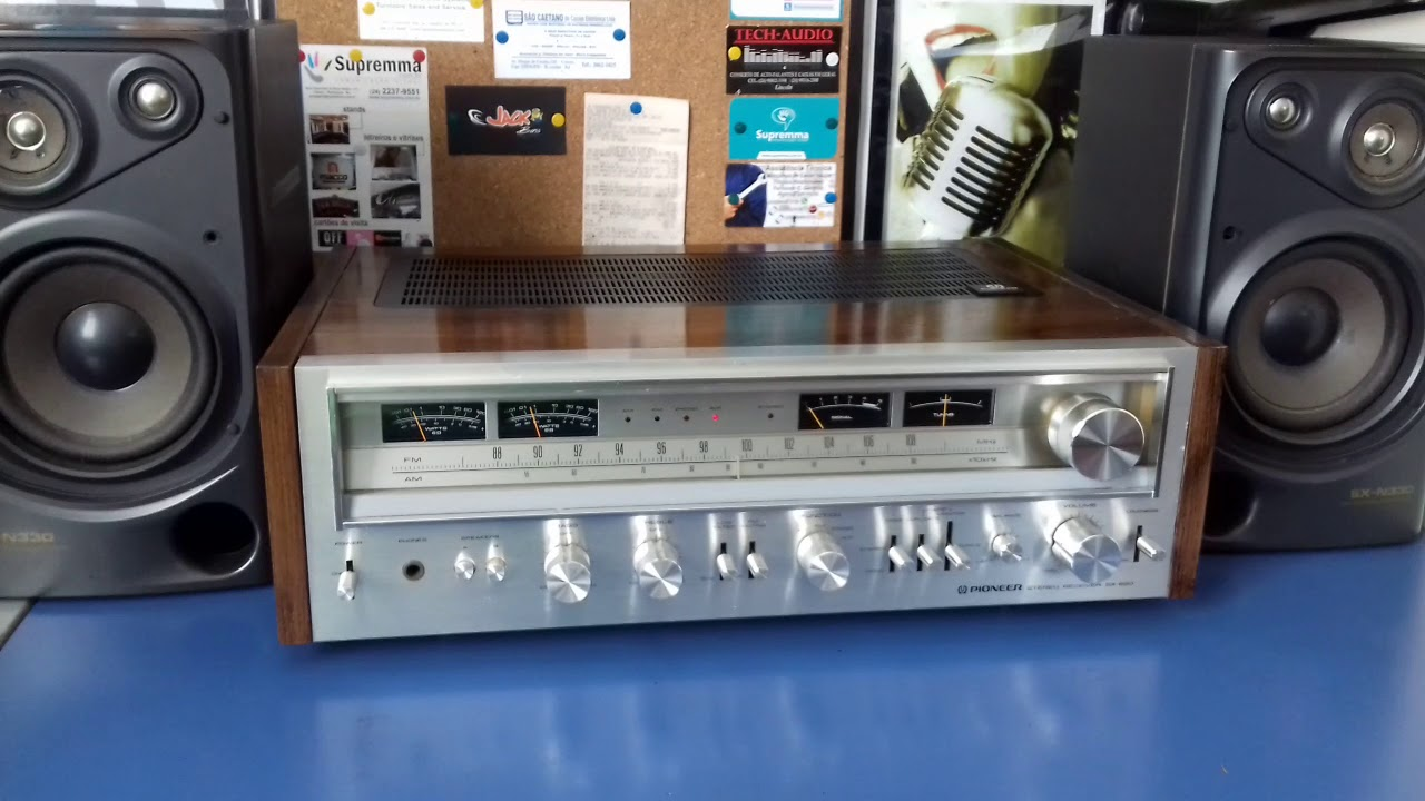 Pioneer sx 880 + sansui sp-z770 line gold by Andre tabares