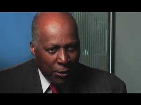 Vernon Jordan Speaks to A Lawyer Walks Into A Bar