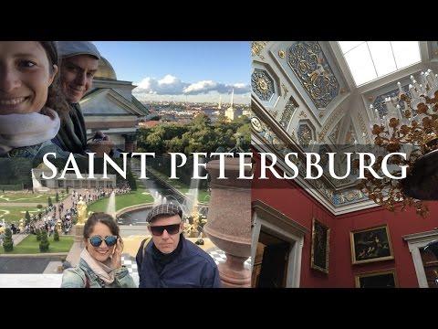 Italian boyfriend in Russia, Vlog #2. SAINT PETERSBURG | TRAVEL
