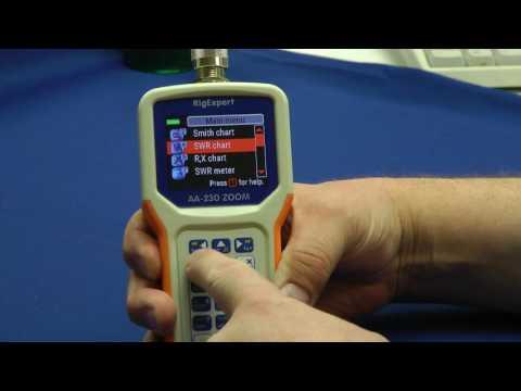 RigExpert AA230 ZOOM Antenna Analyzer