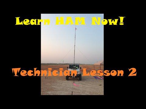 Amateur Radio HAM Technician Lesson 2 Questions T1A05   T1A08 -Learn Ham Now!
