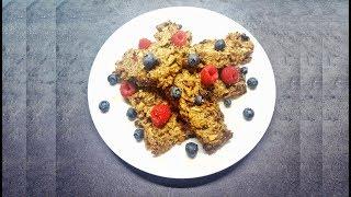 Best Crunchy MUESLI / GRANOLA BARS   Healthy Vegan Oat Recipe