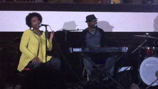 "Carla Jackson & Jay Baxter singing ""Nothing Has Ever Felt Like This"" by Rachelle Ferrell & Will Dow"