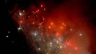 98年台中法天壇霧峰分鎮林家池府王爺進香回駕電子煙火影片