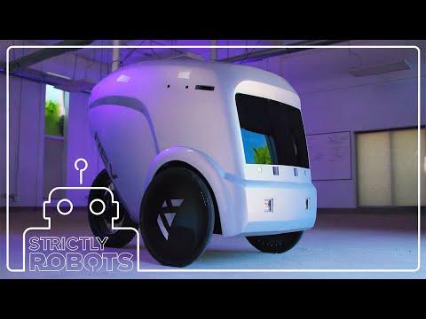 Meet the Latest Autonomous Food Delivery Robot