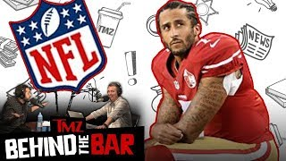 Why Colin Kaepernick's Lawsuit May Bring Down The NFL | Behind The Bar | TMZ Live thumbnail