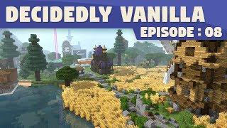 I'm Back! & Short Tour | Minecraft Decidedly Vanilla #8