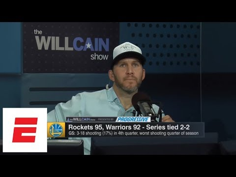 Will Cain: Kevin Durant 'disappeared' in Warriors' Game 4 loss to Rockets | Will Cain Show | ESPN