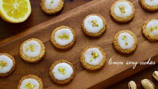 レモンのアイシングオートミールクッキー|taneのくらしさんのレシピ書き起こし
