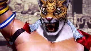 Tekken 7 (PS4) - Nina VS King Gameplay Fight [1080p 60fps]
