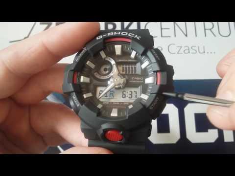 Recenzja Casio G - Shock GA700 - opis funkcji i działanie zegarka by Matej