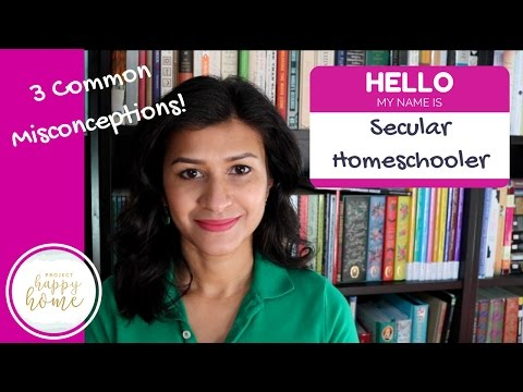 TOP 3 MISCONCEPTIONS ABOUT SECULAR HOMESCHOOLERS