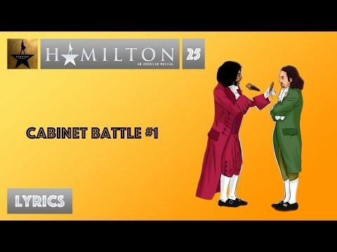 #25 Hamilton - Cabinet Battle #1 [[VIDEO LYRICS]]