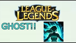 Funny Moments (ITS THAT A GHOST????) league of legends