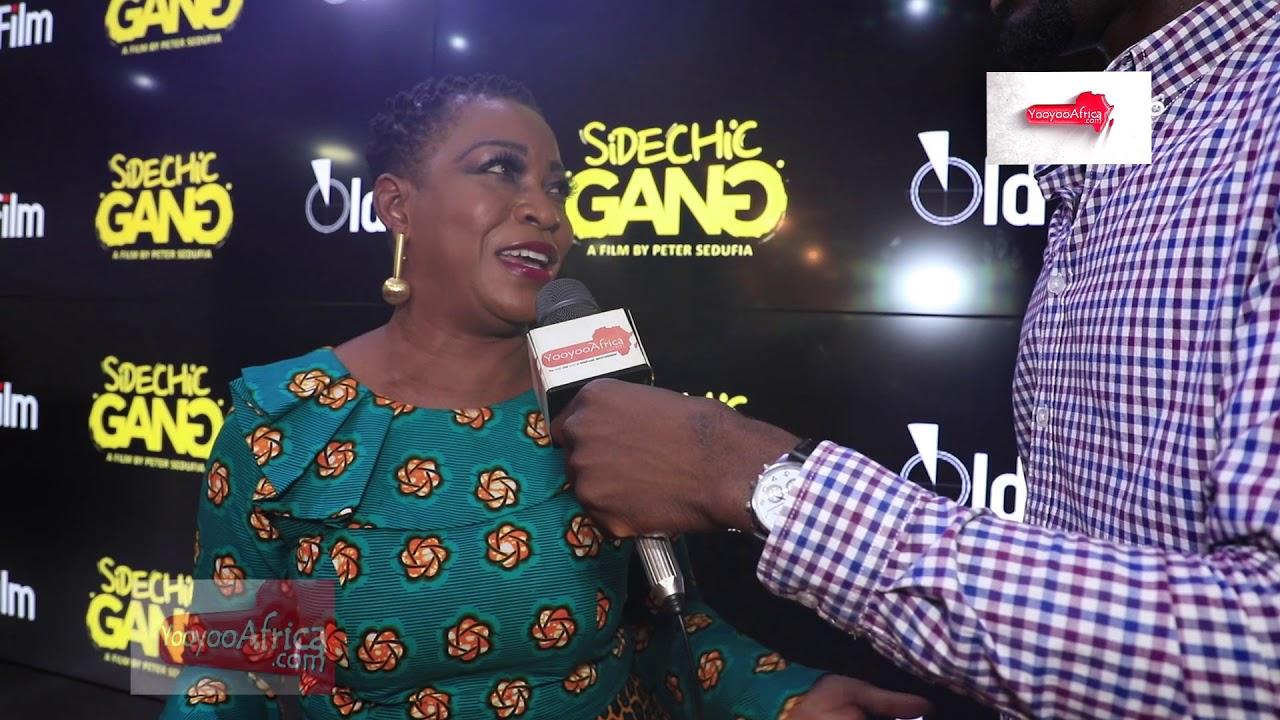 "Download Nana Ama Mcbrown, Akorfa Edjeane and Peter Sedufia talks ""Sidechick Gang"" movie ticket Saga"