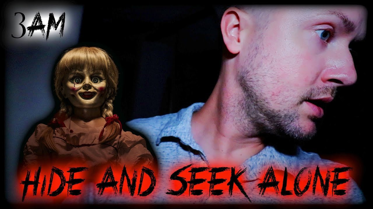 HIDING from a POSSESSED DOLL at 3AM!! | Hide and Seek Alone | Paranormal Game | MichaelScot by: MichaelScot