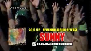 2012年5月5日 NEW MINI ALBUM『SUNNY』全国発売決定! 全7曲 1800円 ①PL...