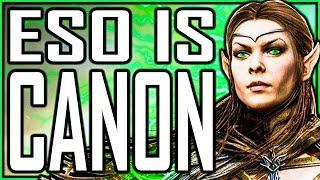 Elder Scrolls Online IS CANON LORE & So Is TES Legends