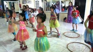 Zumba hula hoop kids class sanggar echy lahat